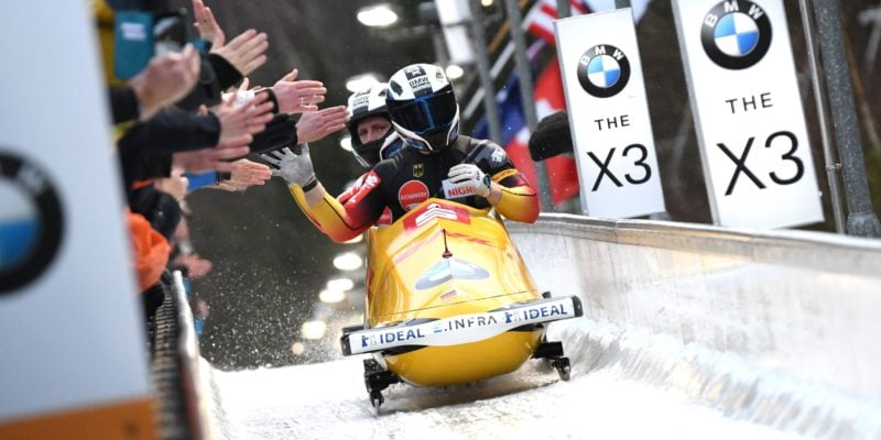 2 man Bob BMW IBSF World Championships 2020 Altenberg Friedrich 1