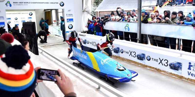 2 wom Bob half time BMW IBSF World Championships 2020 Altenberg