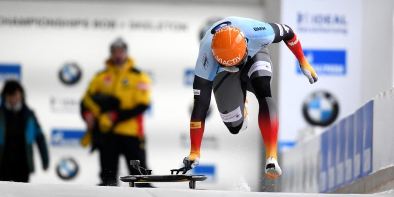 MenSkel BMW IBSF World Championships 2020 Altenberg Grotheer start
